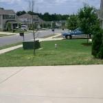 I like having a lawn.