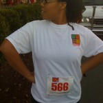 Me, before the race.
