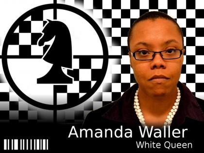 Amanda Waller Badge