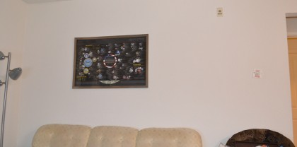 Taken down in the great January 2012 living room redecoration.
