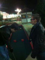 Greg and Deana putt-putting