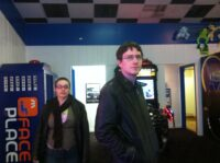 Deana and Greg at the Arcade