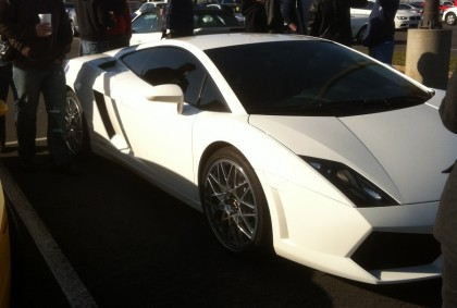 Newer Lambo Gallardo from the side
