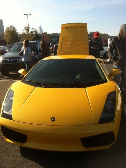 Ever-so-slightly older Lambo Gallardo